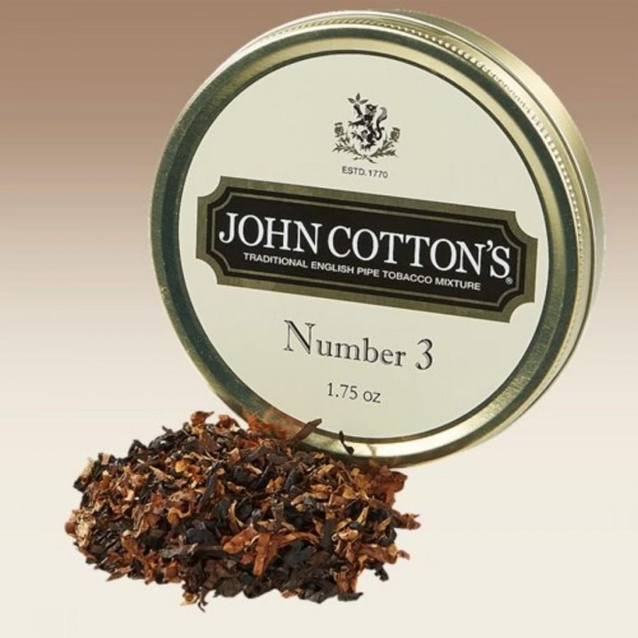 John Cotton's Number 3